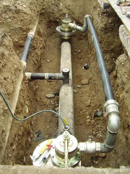 Costruzione gasdotti lodi crema realizzazione rete gas - Tubazioni gas metano interrate ...
